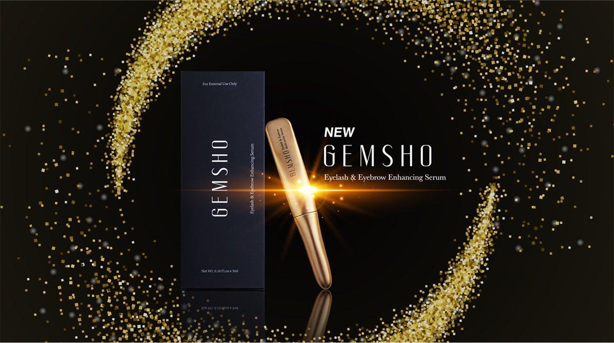 Serum Dưỡng Dài Mi, Mày Gemsho Eyelash & Eyebrow Enhancing 3ml (xx Mỹ)