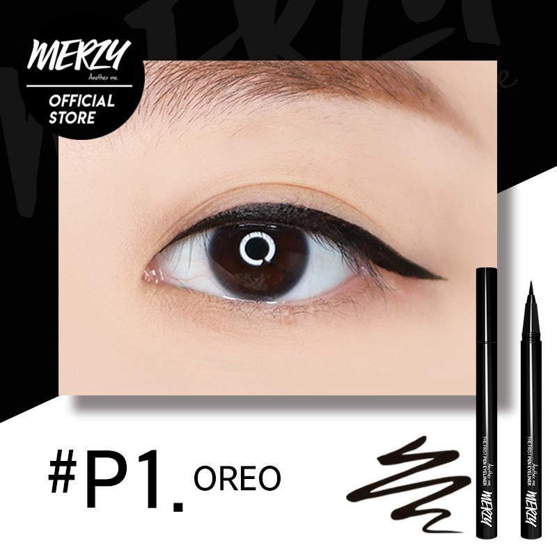 Kẻ Mắt Merzy Another Me The Frist Pen Eyeliner #P1 Oreo