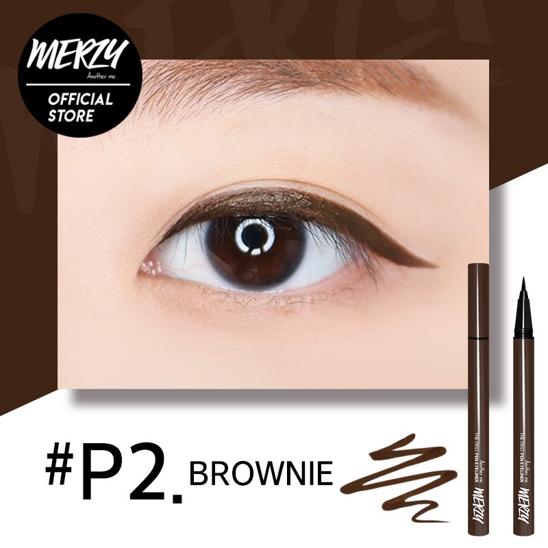 Kẻ Mắt Merzy Another Me The First Pen Eyeliner #P2 Brownie