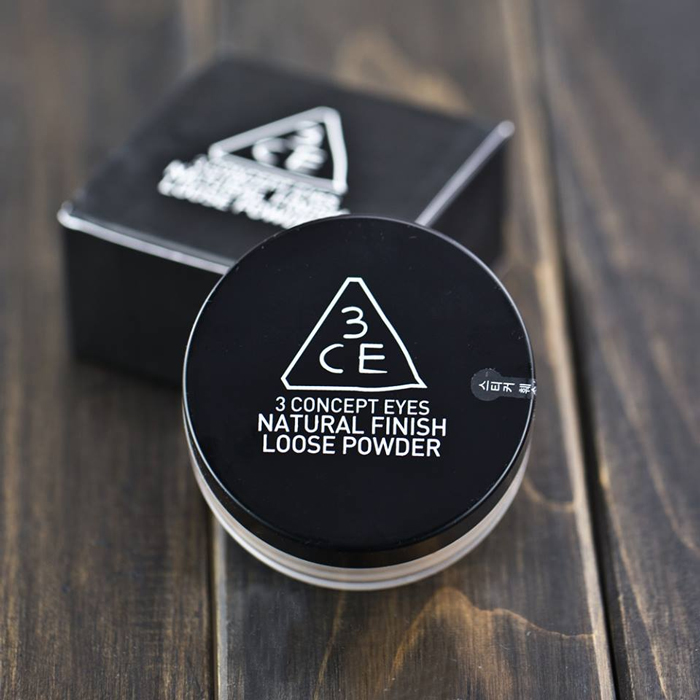 Phấn Bột 3CE Natural Finish 001 (Hộp)