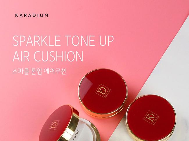 Cushion Karadium Sparkle Tone Up Air #21
