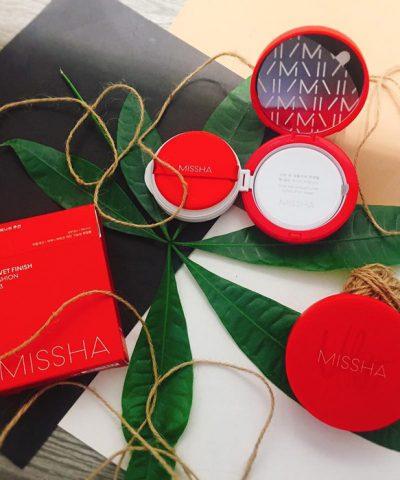 Cushion Missha Velvet Finish N23
