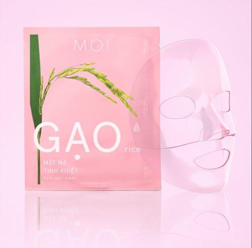 Mặt Nạ M.O.I Gạo Tinh Khiết Rice Hydrogel Mask