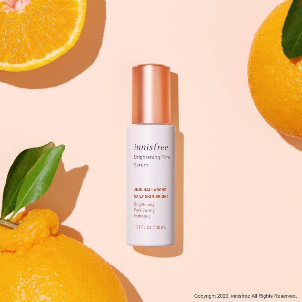 Tinh Chất Innisfree Brightening Pore Serum 30ml