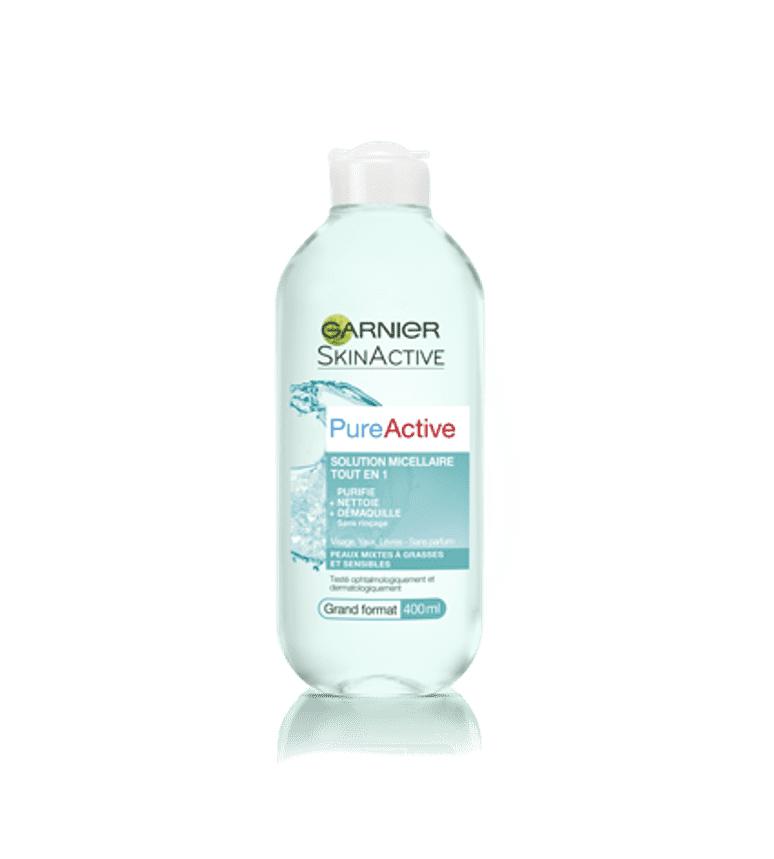 Tẩy Trang Garnier Pure Active Micellar Water 400ml #Xanh Dương