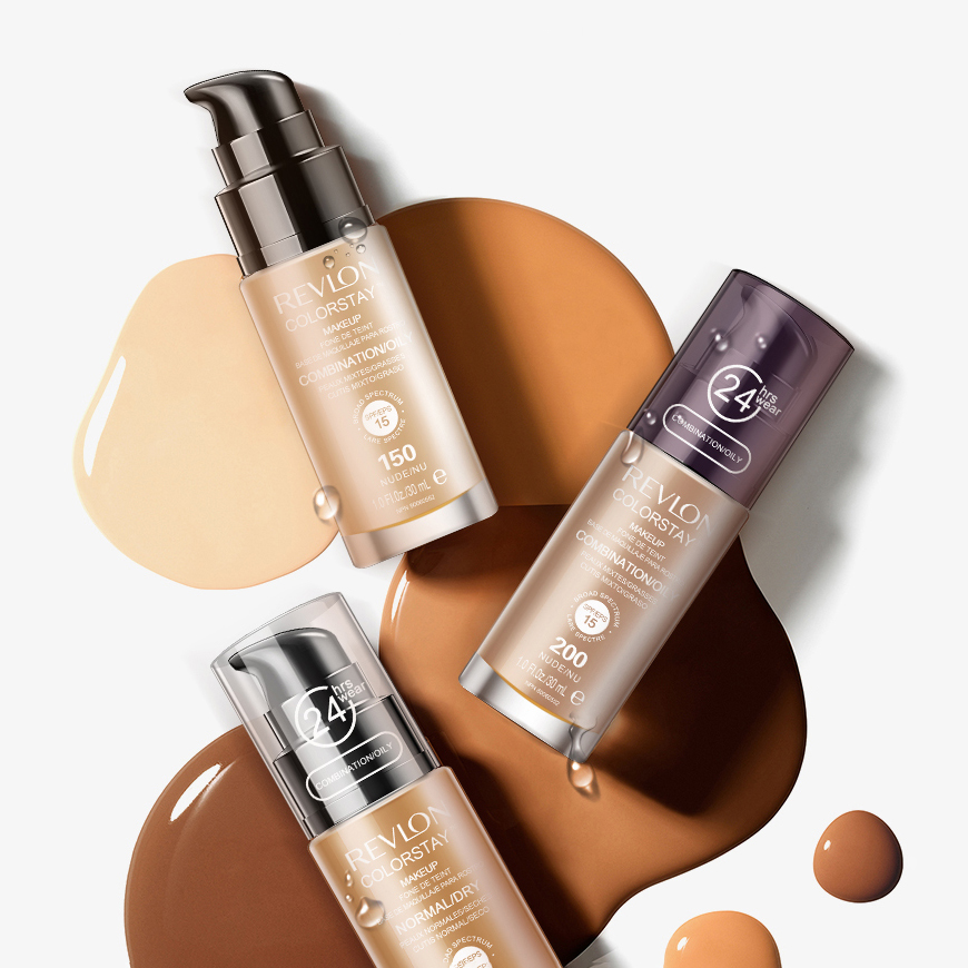 Kem Nền Revlon Colorstay™ Makeup For Combo_Oily Skin #200 Nude 30ml