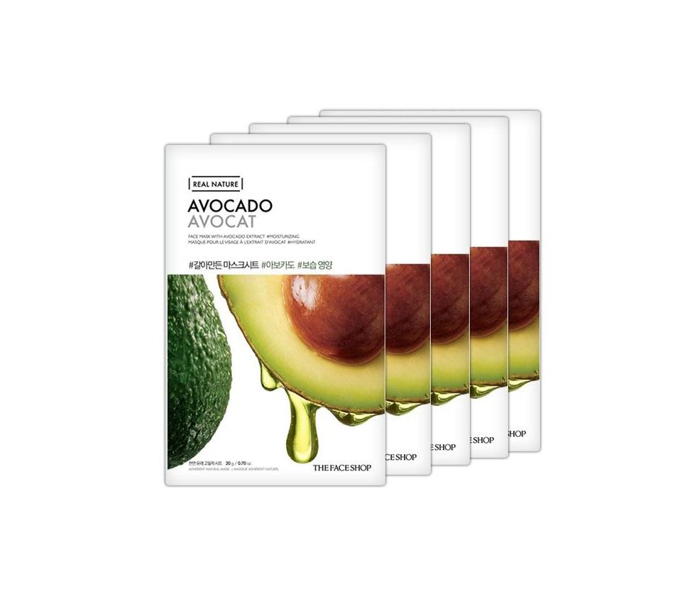 Mặt Nạ TFS Real Nature #Avocado