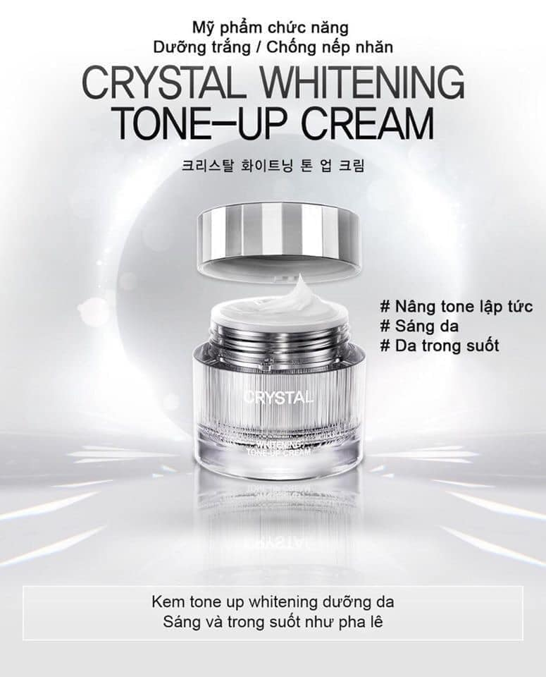 Kem Dưỡng Recipe Crystal Whitening Toneup Cream 50ml