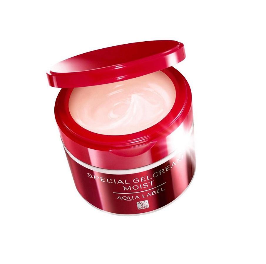 Kem Dưỡng Aqua Label Special Gel Cream Moist 90g (Đỏ)