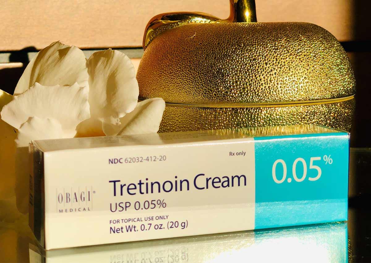 Kem Trị Mụn & Chống Lão Hóa Obagi Tretinoin Cream 0.05% 20Gr