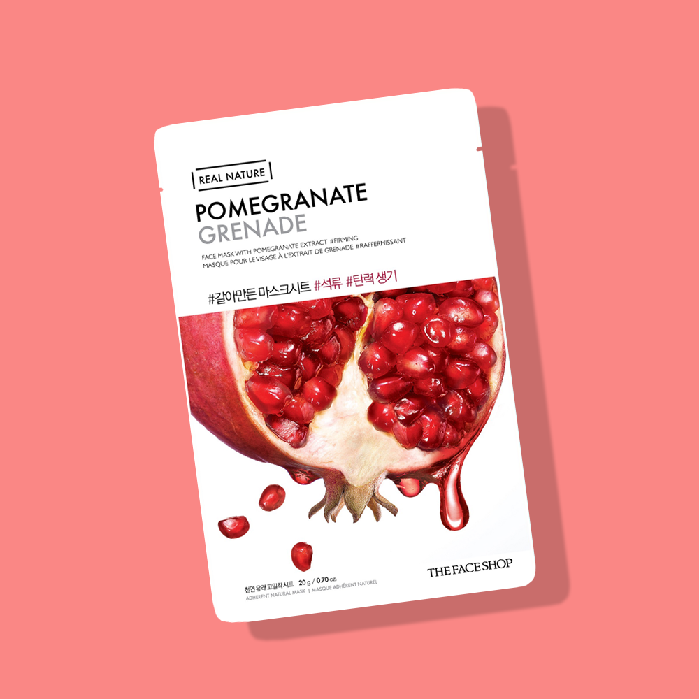 Mặt Nạ TFS Real Nature Pomegranate Grenade