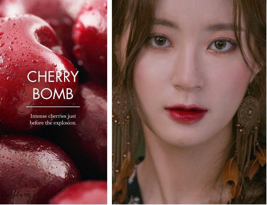 Son Romand Juicy Lasting Tint No.12 #Cherry Bomb