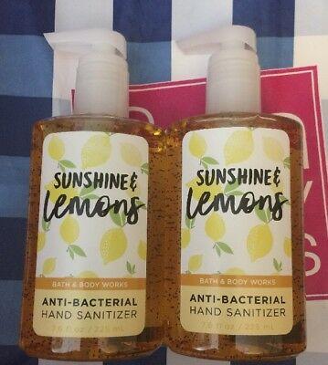 Gel Rửa Tay Khô Bath & Body Work Anti-Bacterial Hand Sanitizer #Lemons 225ML