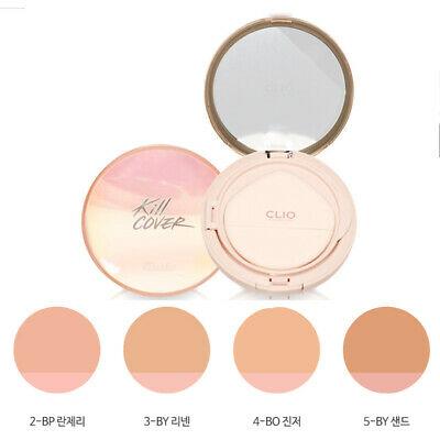 Phấn Nước CLIO Kill Cover Pink Glow Cream Cushion SPF40 PA++ 4BO Ginger(Kèm Lõi Thay Thế 17g X 2)
