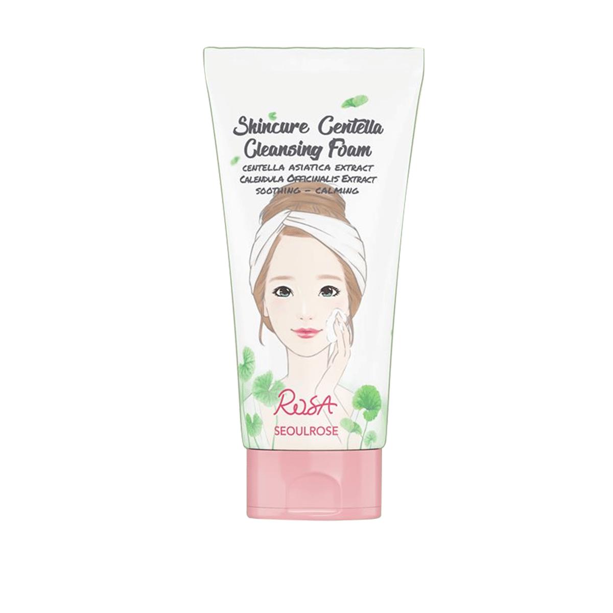 Sữa Rửa Mặt Seoul Rose Rosa Skincare Centella 150ml
