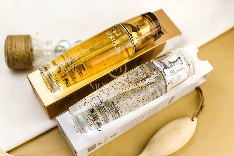 Tinh Chất Bergamo 24K Gold Brilliant Essence 110Ml