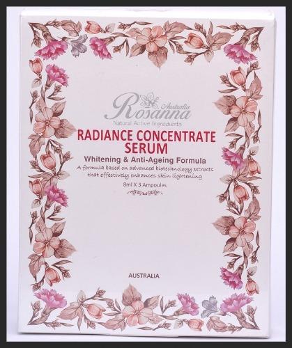 Tinh Chất Rosanna Radiance Concentrate Serum (8ml X 3Ea)