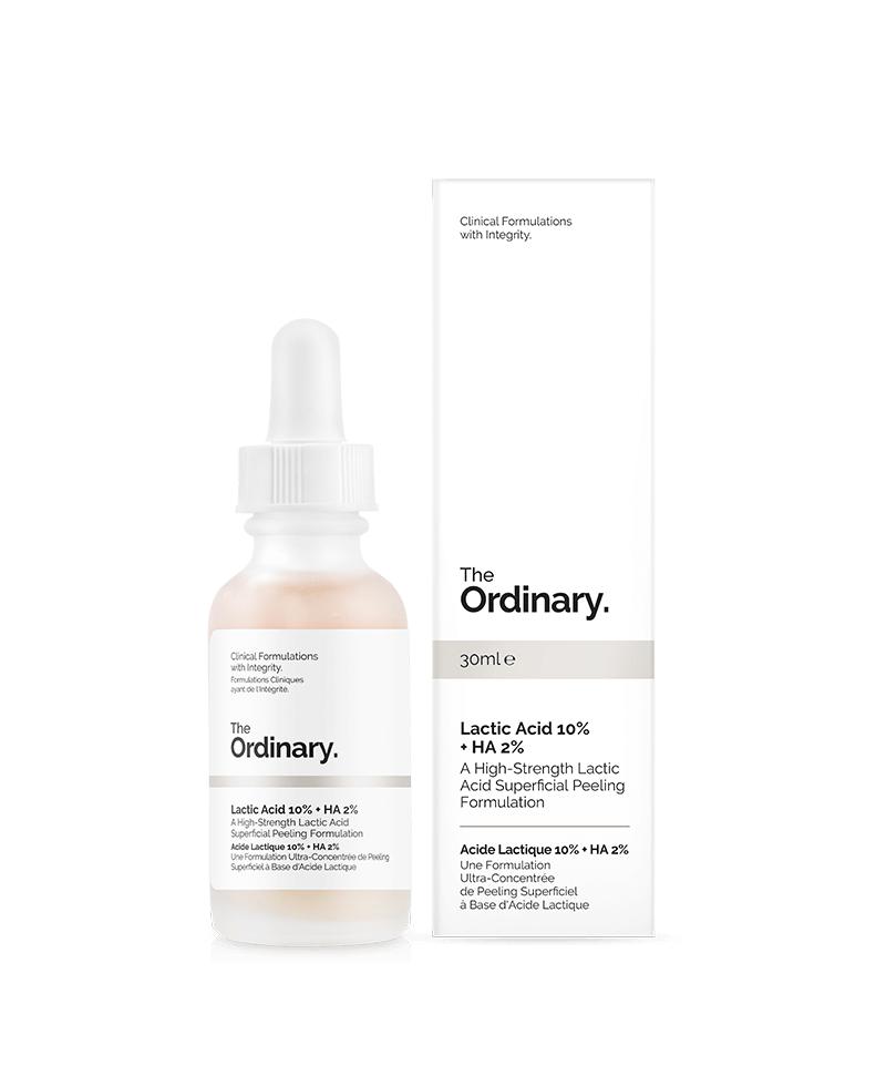 Tinh chất dưỡng The Ordinary Lactic Acid 10% + HA 2%