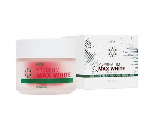 Viên Uống Trắng Da Genie Premium Max White (Rose Hip) 60 viên