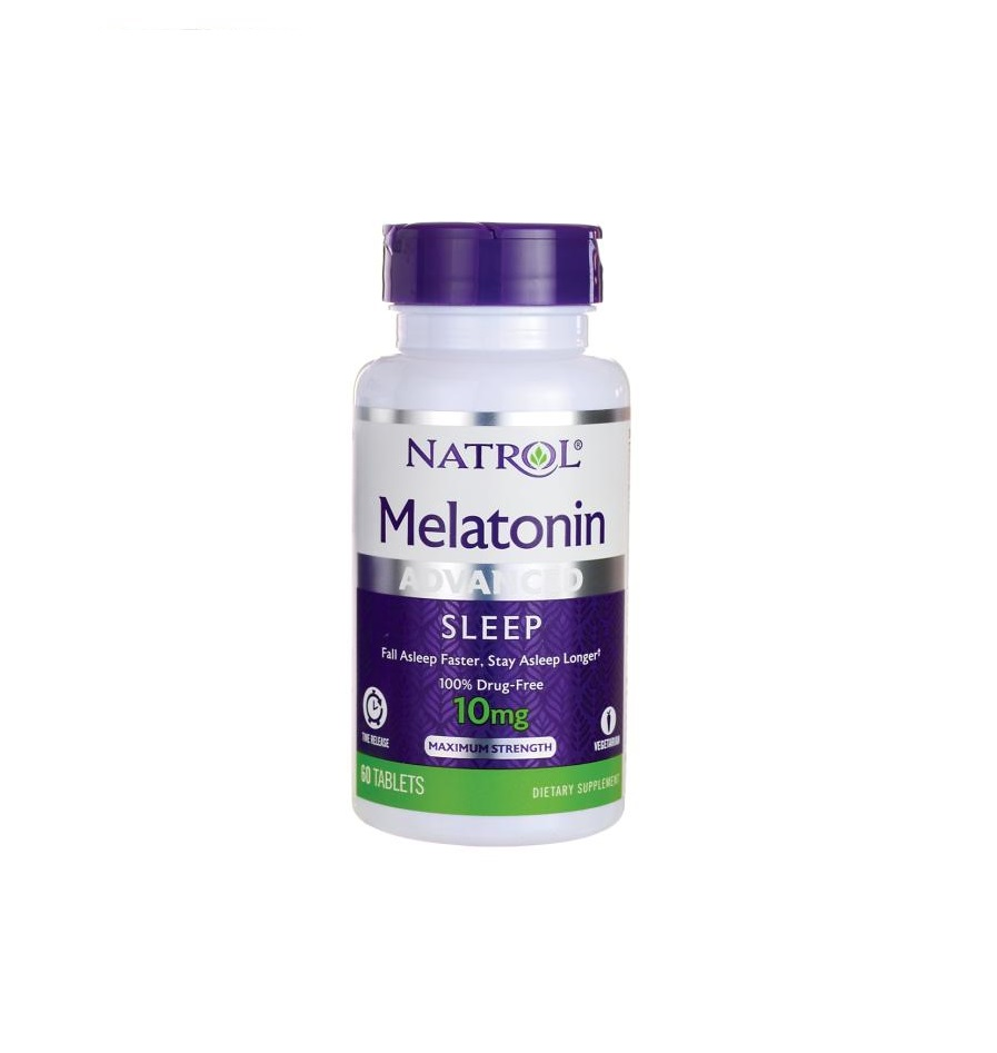 TPCN Natrol Melatonin Advanced Sleep 10mg (60 Viên)