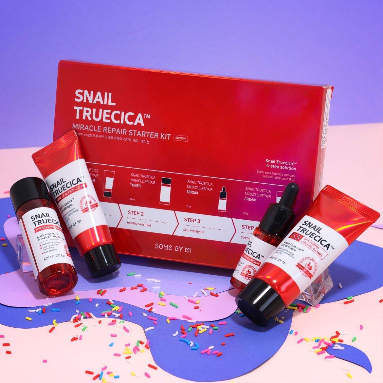Bộ Kit Dưỡng Da Some By Mi Snail Truecica Miracle Repair Starter Kit 4 món