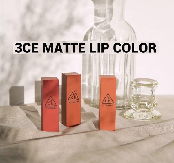 Son 3CE Matte Lip Color #230 Kytaly