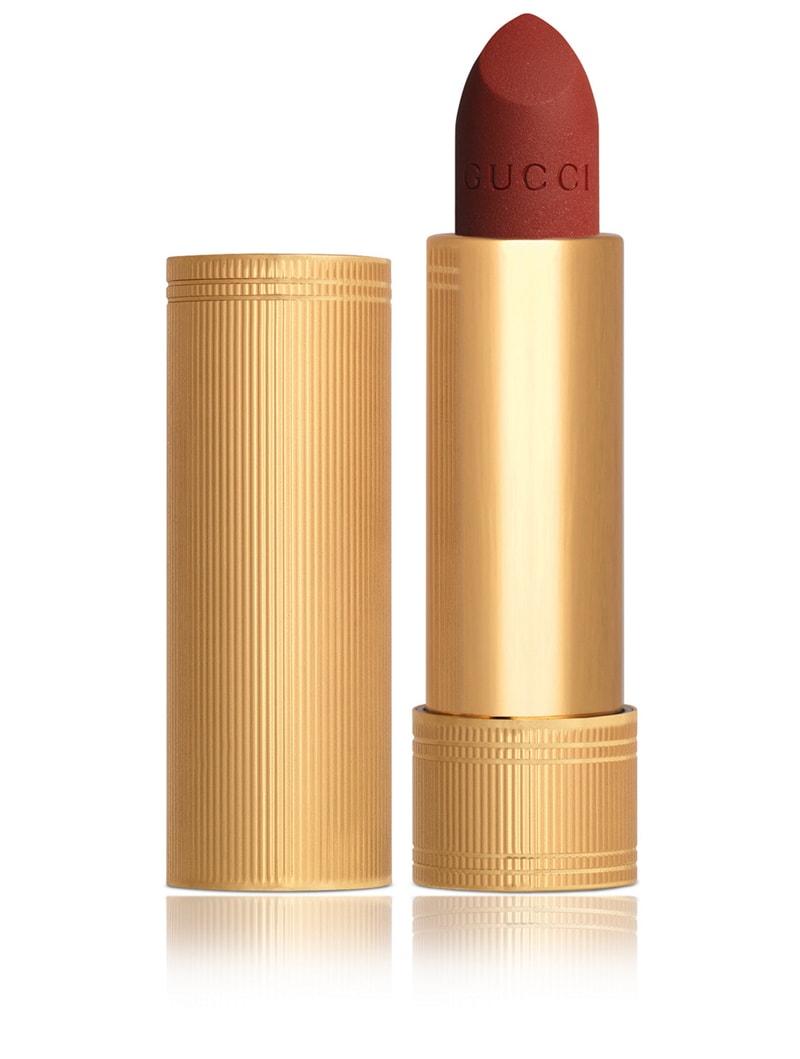 Son Gucci Rouge À Lefvres Mat #505 Janet Rust