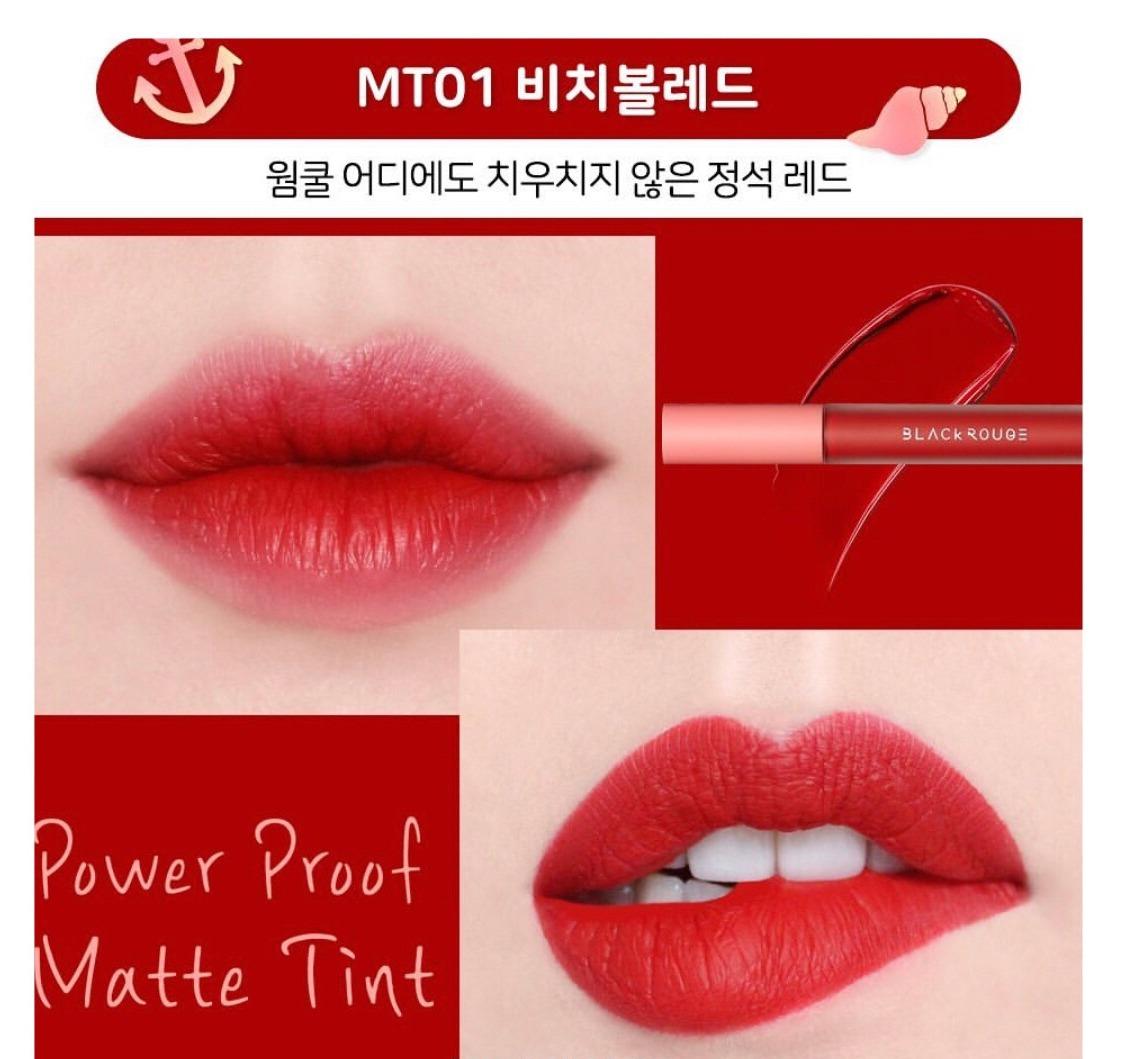 Son Black Rouge Power Proof Matte Tint #MT01