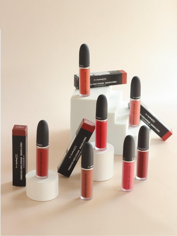 Son Kem Mac Powder Kiss Liquid Lipcolour #997 Over The Taupe