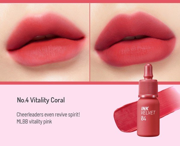Son Kem Peripera Ink The Velvet #06 4g [New 2019] Siêu Lì, Siêu Mịn