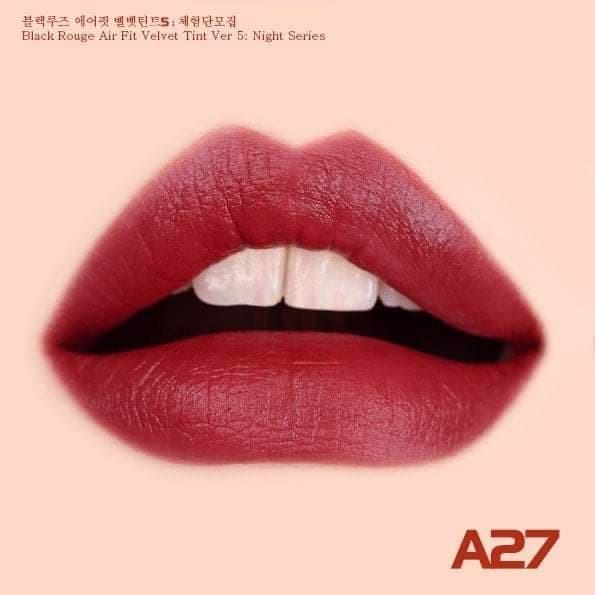 Son Black Rouge Airfit Velvet A27