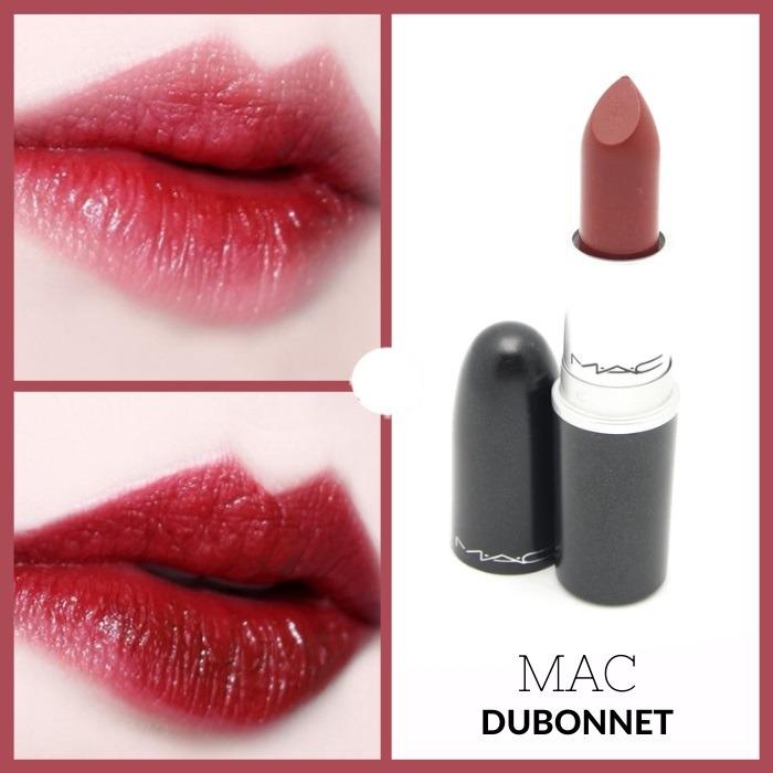 Son MAC Amplified Creme Lipstick #108 Dubonnet