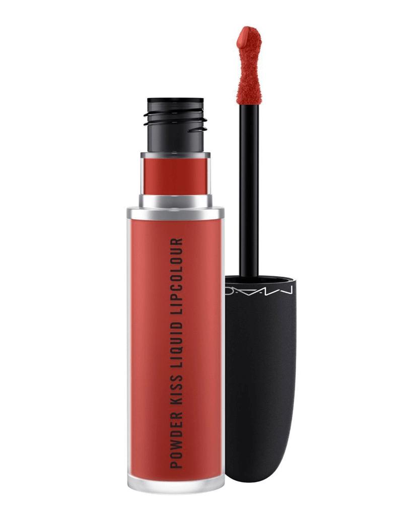 Son Kem Mac Powder Kiss Liquid Lipcolour Màu 991- Devoted To Chili