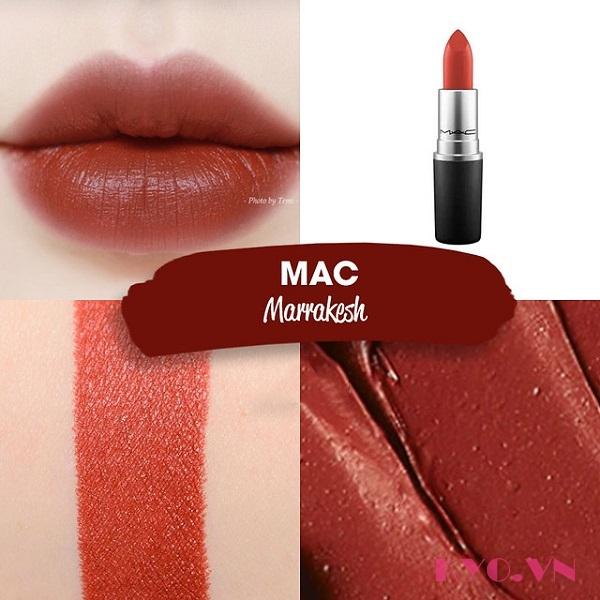 Son MAC Matte Lipstick #646 Marrakesh