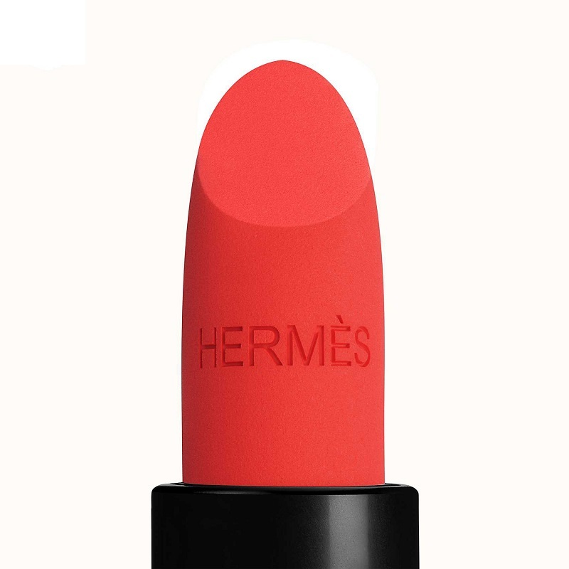 Son Hermès Rouge Hermès Matte Lipstick Rouge Exotique 46 Mat