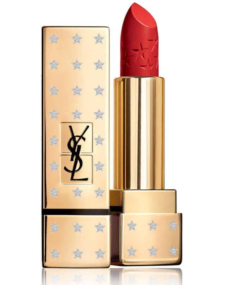 Son YSL Rouge Pur Couture Satin Lipstick High On Stars #1 Le Rouge