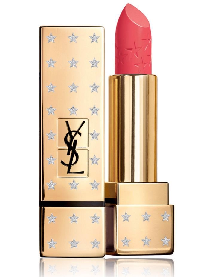 Son YSL Rouge Pur Couture Satin Lipstick High On Stars  #52 Rouge Rose