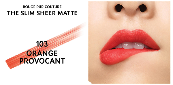 Son Yves Saint Laurent Rouge Pur Couture The Slim # 103
