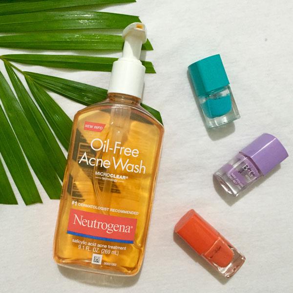 SRM Neutrogena Oil Free Acne Wash 269Ml