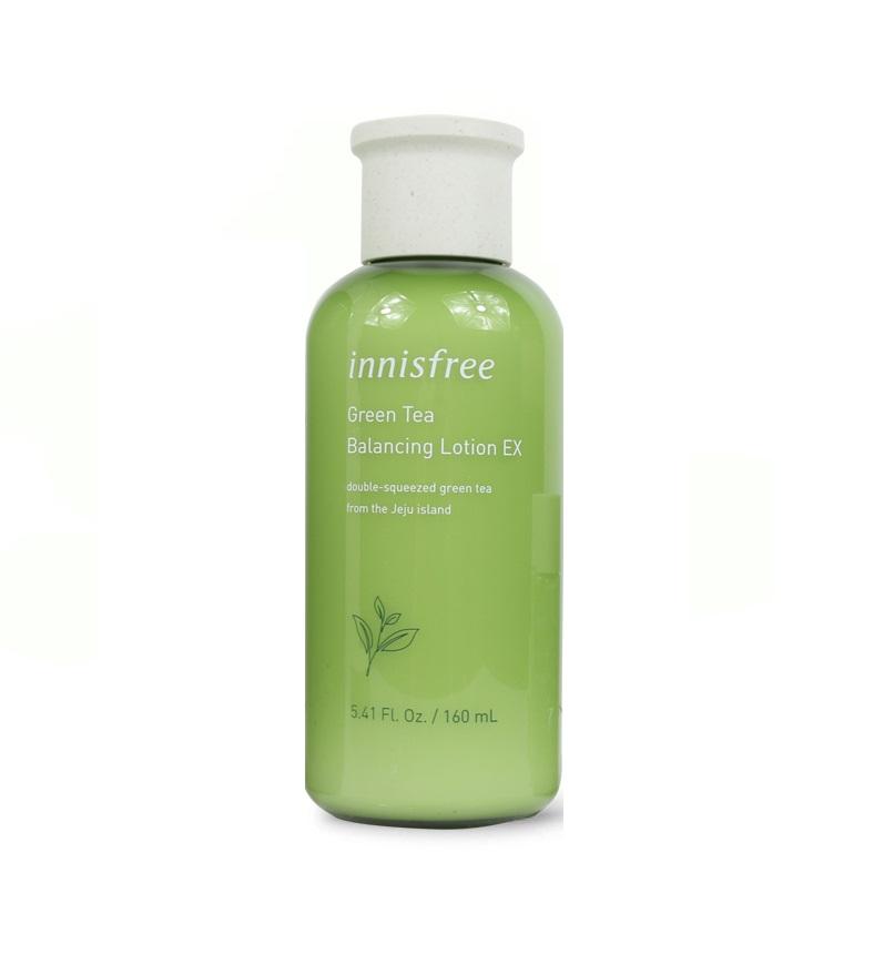 Sữa Dưỡng Innisfree Green Tea Balancing Lotion EX 160ml
