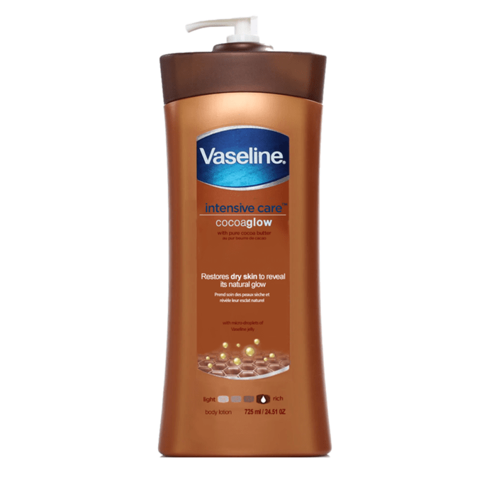 Dưỡng Thể Vaseline Intensive Care Cocoaglow 725Ml