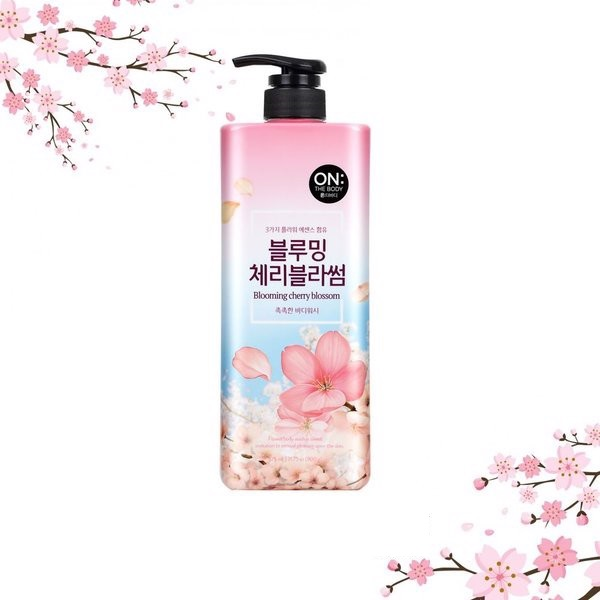 Sữa Tắm On The Body Cherry Blossom 875ml