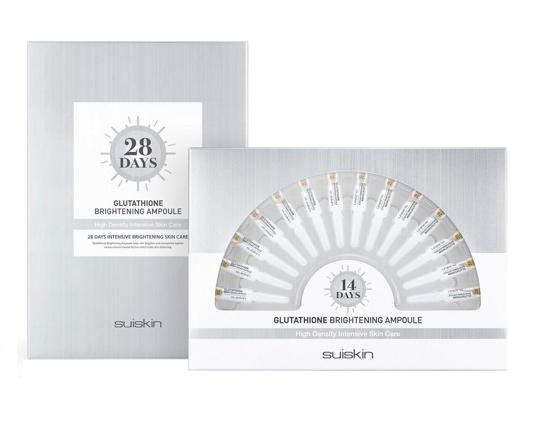 Set Serum Suiskin 28Days Glutathione Brightening