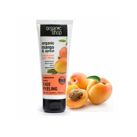 Tẩy TBC Organic Shop Mango & Apricot 75Ml