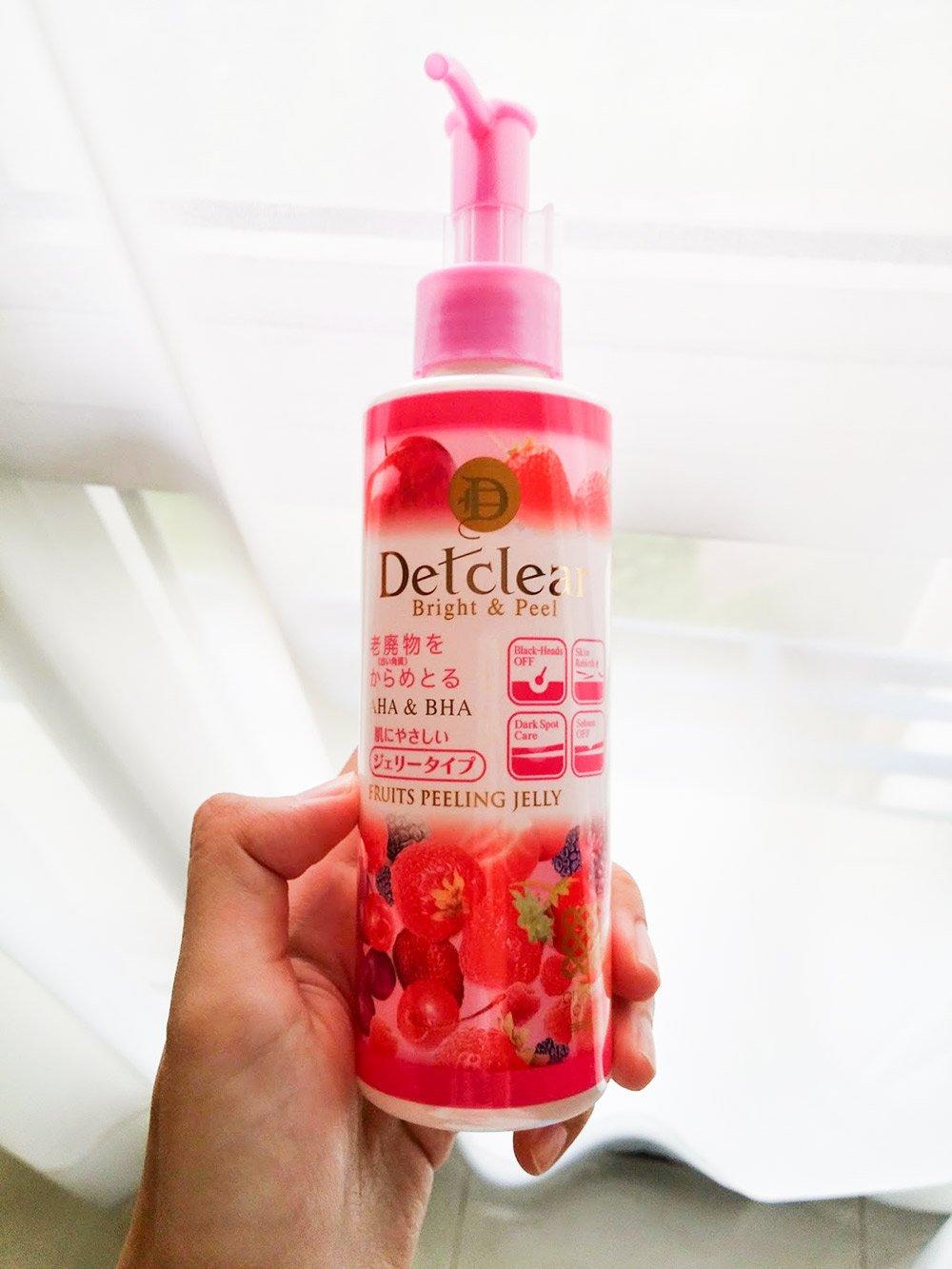Tẩy Tế Bào Chết Dạng Gel Detclear Bright & Peel (Hồng) 180ml