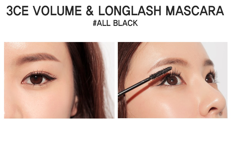 3CE Volume & LongLash Mascara (cây)