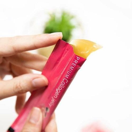 Thạch Collagen Dưỡng Da Sakura Premium Collagen Jelly Nhật Bản (1 gói)