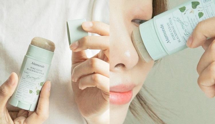 Thanh Lăn Trị Mụn Đầu Đen Mamonde Pore Clean Blackhead Eoseongcho 18Gr