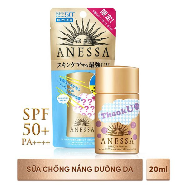 Sữa Chống Nắng Anessa Perfect Uv Sunscreen Milk 20Ml