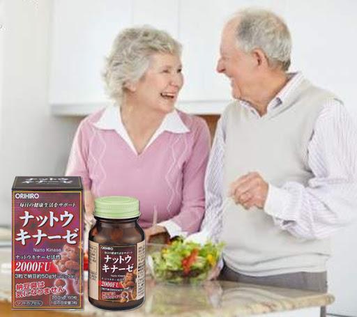 Viên Uống Hỗ Trợ Điều Trị Tai Biến Nattokinase Orihiro 60v
